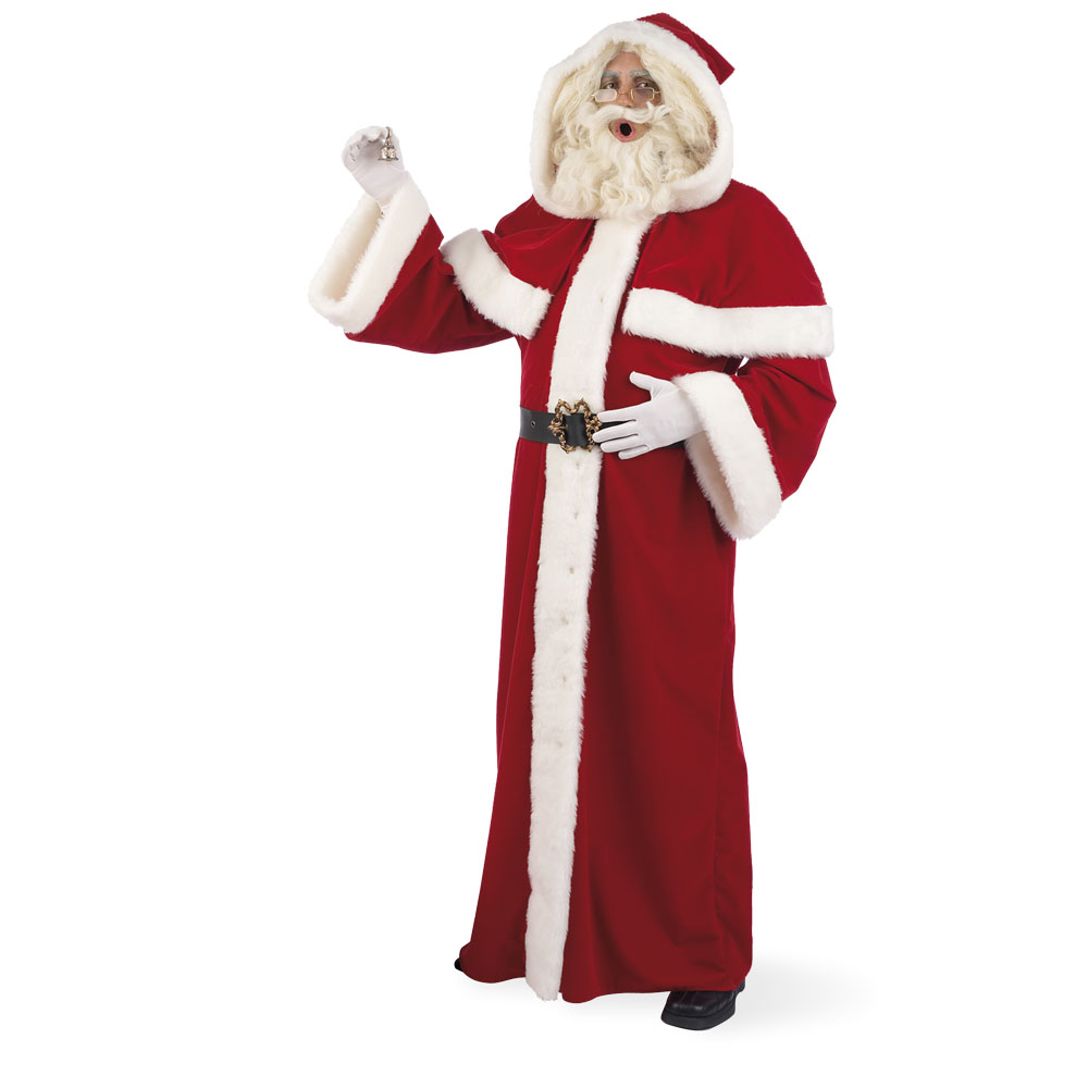 Long clothing santa claus