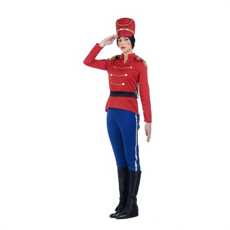 LEAD SOLDIER COSTUME FOR WOMEN